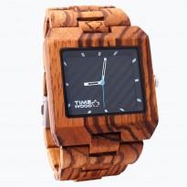 Dřevěné hodiny TimeWood Valdi